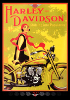 Vintage and Classic Bike Posters